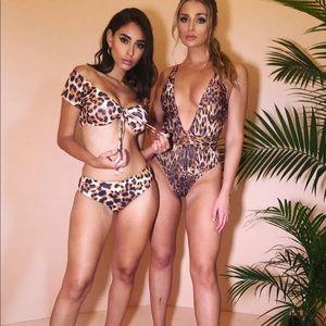 Leopard One Piece Swimsuit
